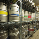 Beer Kegs at Parry's Pizzeria and Bar |restaurant Construction Company