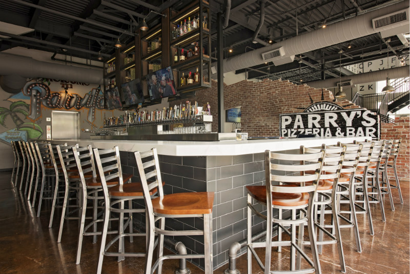 parrys pizza bar | Mendel and Company Construction